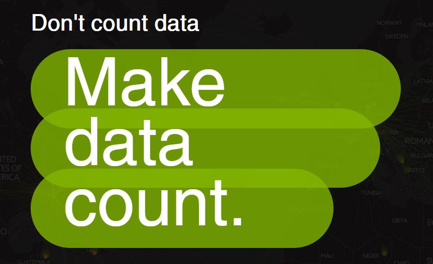 Make data count